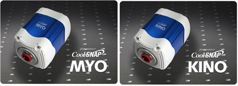 Photometrics CoolSNAP™ MYO and the CoolSNAP™ KINO CCD cameras