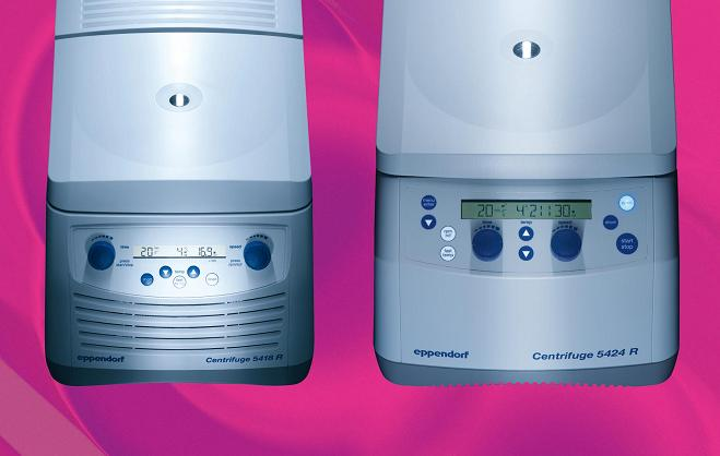 Eppendorf introduces the new refrigerated microcentrifuges 5418 R and 5424 R