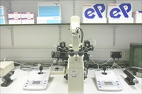 Eppendorf TransferMan® NK2 micromanipulator and CellTram® manual microinjectors installed in the Eppendorf Microinjection Suite