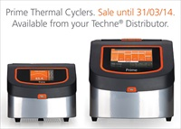Get Prime Thermal Cyclers at a record-breaking low price with latest offer from Techne
