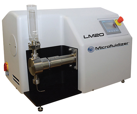 LM20 Microfluidizer High Shear Fluid Processor