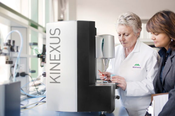 Kinexus range of rotational rheometers