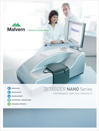 Zetasizer Nano dynamic light scattering system brochure