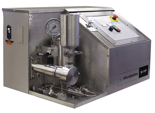 Microfluidics M-110P Microfluidizer® High Shear Fluid Processor