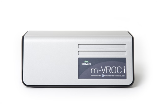 New partnership between Malvern Instruments and RheoSense brings m-VROCi to industrial markets