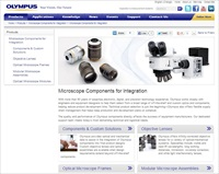 Olympus Component Business Website