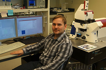 Pavel Dutov at the Illinois Institute of Technology