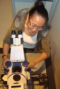 PhD student Xinyue Chen