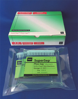 Phos-tag SuperSep pre-cast acrylamide gel range