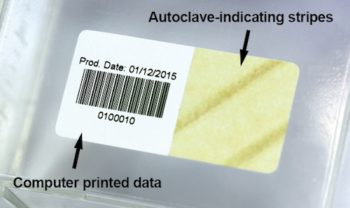 Printable Autoclave Label