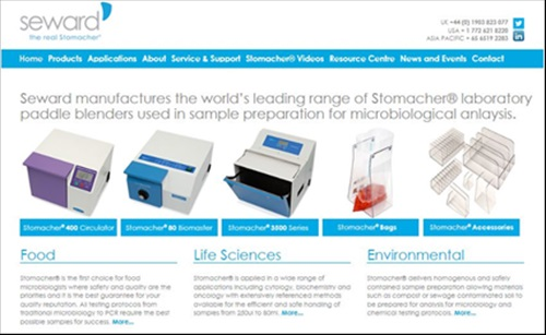 Searchable online Database for Sample Preparation Protocols