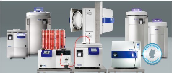 Systec GmbH presents autoclaves media preparators and dispensing devices