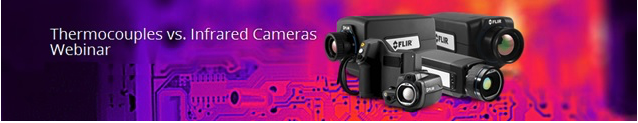 Thermocouples Infrared Cameras