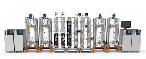 Titan system for flow chemistry