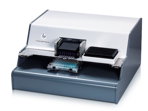 HP D300 Digital Dispenser