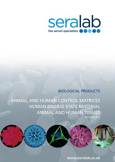 Sera Lab introduces new BioProducts catalogue
