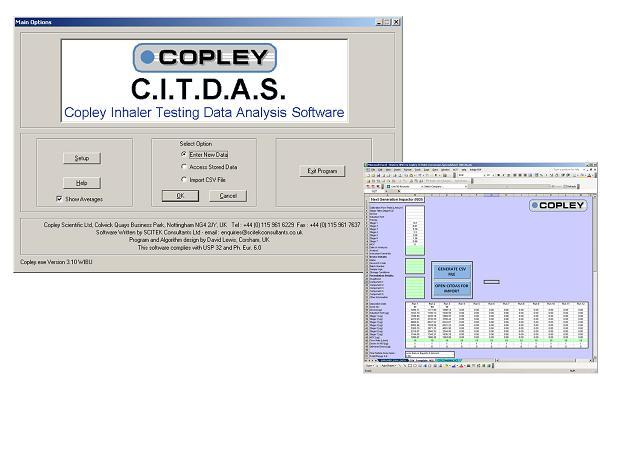 New version of Copley Scientific's inhaler testing software adds automatic data import from Waters Empower