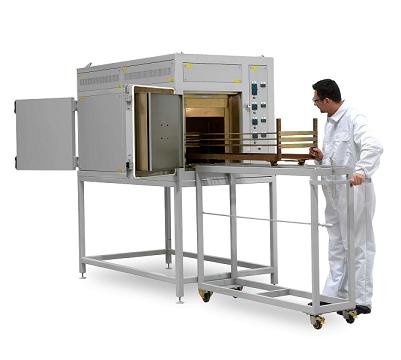 Customised clean room pass-through oven solves heat treating challenge for arterial stents