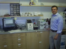Prof. Christopher Bielawski and the Malvern Viscotek system at The University of Texas at Austin
