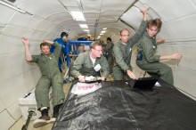 Malvern Spraytec excels in zero gravity testing of new fire extinguisher for International Space Station