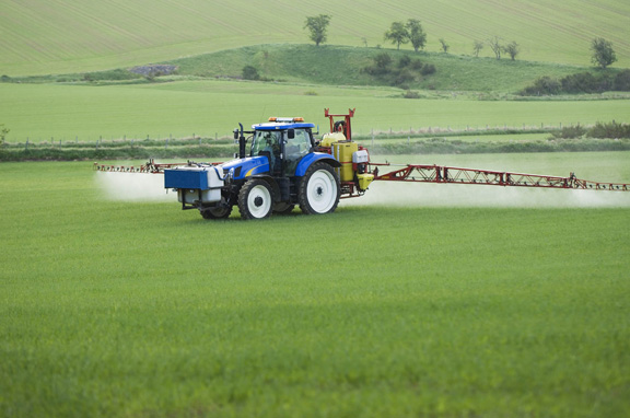 Droplet size is important for effective agrochemical spray applications