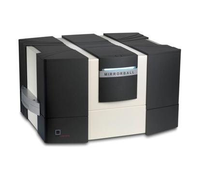 LabTech microplate cytometer Mirrorball