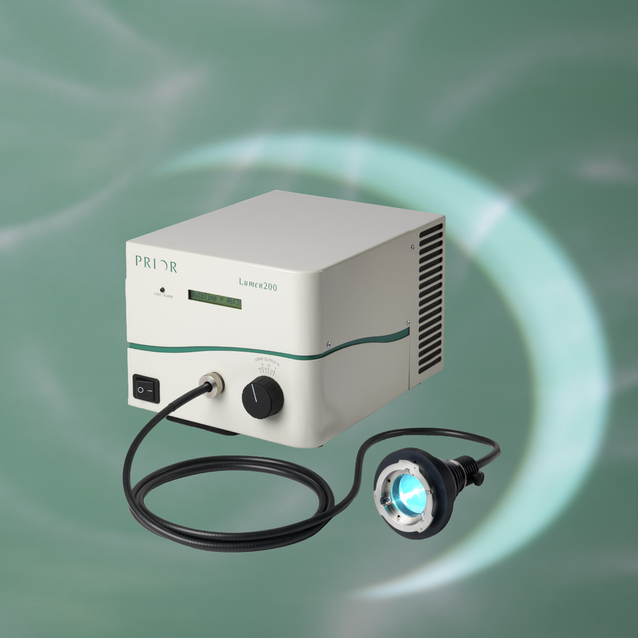 Exciting Illumination for Fluorescence Microscopy in the Shape of the Lumen200 – the brighter, longer lasting, easier to use Fluorescence Illuminator.