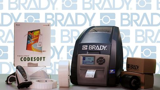New online video stars Brady's smartest laboratory label printer