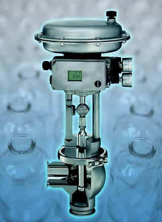 ASEPTIC CONTROL VALVES FOR HIGH PURITY PROCESSES