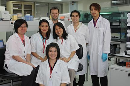 The Clinical Pharmacology Department in the Mahidol-Oxford Tropical Medicine Research Unit (MORU), Bangkok, Thailand