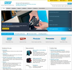 The new Watson-Marlow UK website