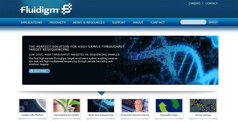Fluidigm Launches Informative New Website for Biological Researchers