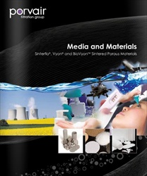 Porvair Filtration Media & Materials brochure