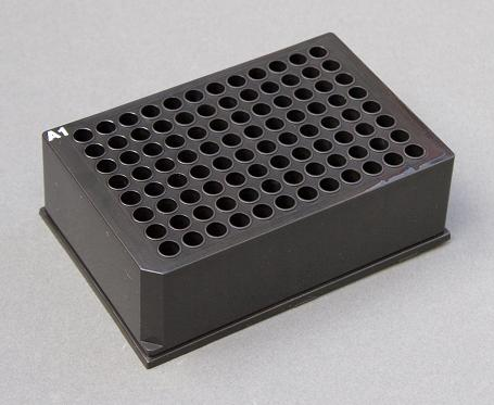 Porvair Sciences has announced a black microplate and seal combination that eliminates sample degradation by exposure to light, even over long-term storage periods