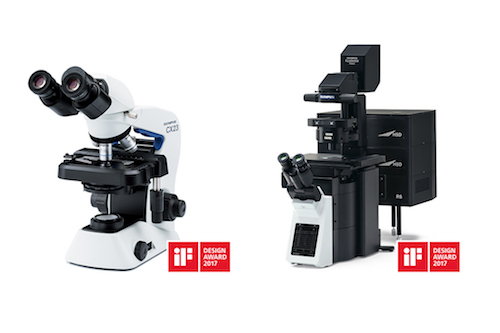 /iF awards recognise Olympus smart microscope design