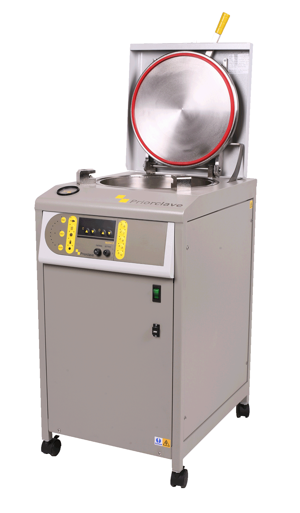 Priorclave C60 top loading autoclave
