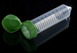 Porvair 15ml and 50ml flip cap centrifuge tubes