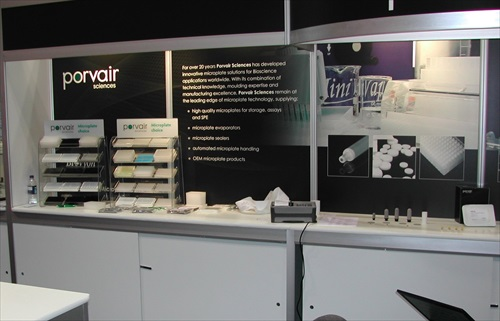 Porvair Exhibition Stand