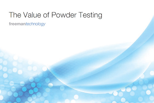 the value of powder testing