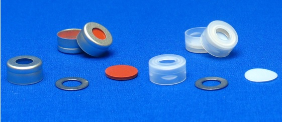 11mm Aluminum Seals & Snap Top CapsTM with Metal 0-Rings