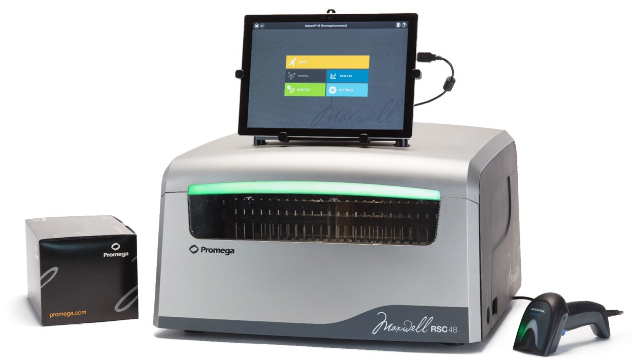 Promega-Demonstrating-Maxwell-RSC48-Automated-Nucleic-Acid-Extraction-Platform-2019-Festival-Genomics