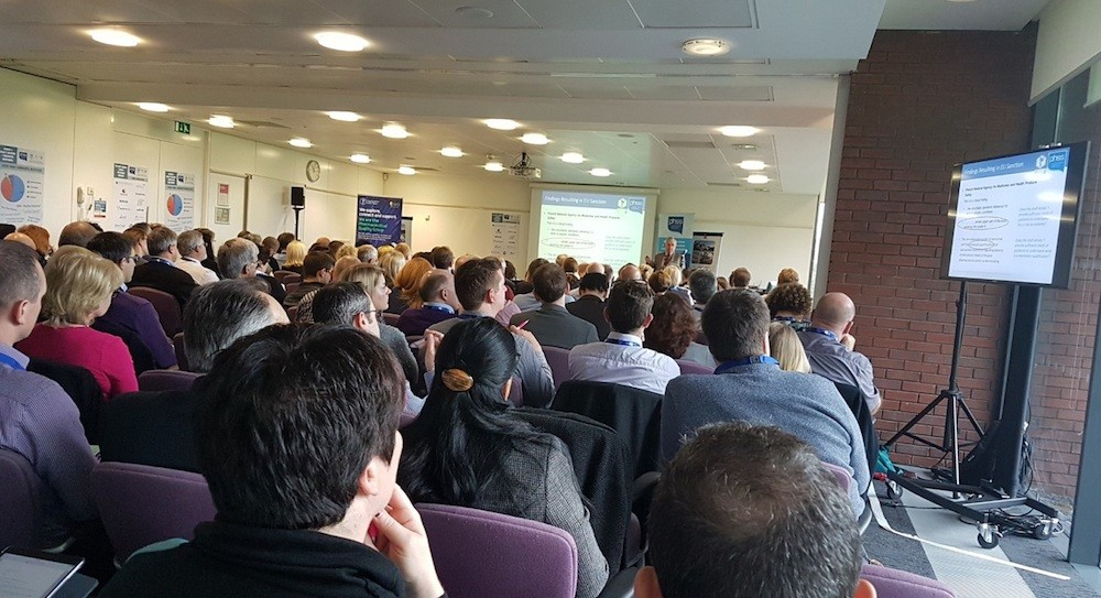Full house at the PHSS Annex 1 conference in March 2018