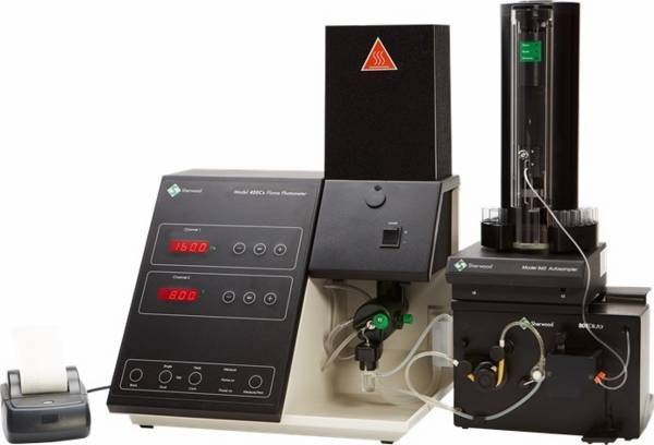 M420Cs Flame Photometer with Caesium Internal Reference